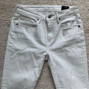 White Vince skinny jeans